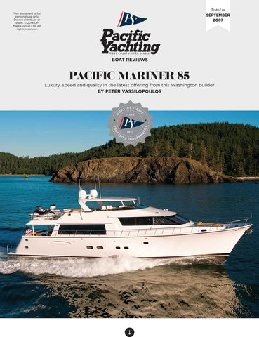 Pacific Mariner 85 [Tested in 2007]