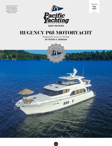 Regency P65 Motoryacht [Tested in 2017]