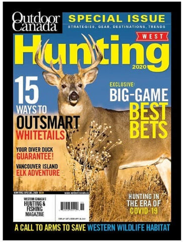 Outdoor Canada West Special Hunting 2020 Issue