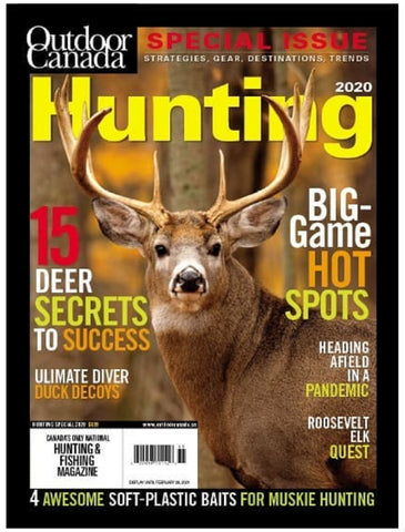 Outdoor Canada Special Hunting 2020 Issue