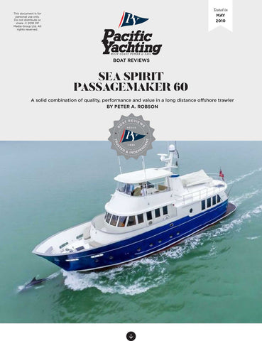 Sea Spirit Passagemaker 60 [Tested in 2010]