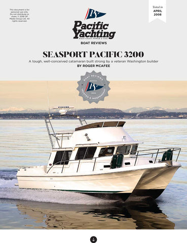 SeaSport Pacific 3200 [Tested in 2008]
