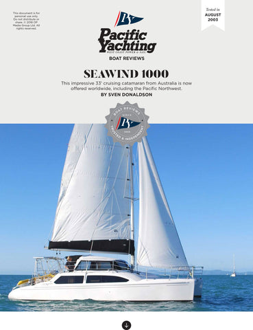 Seawind 1000 [Tested in 2003]