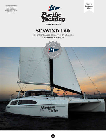 Seawind 1160 [Tested in 2009]