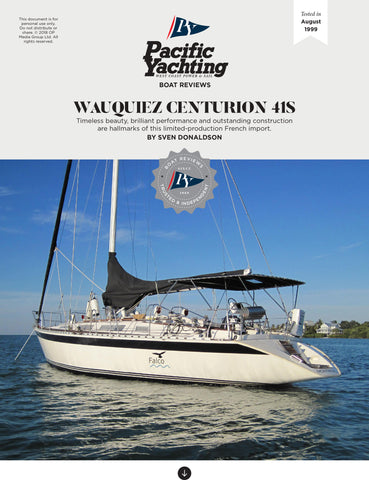 Wauquiez Centurion 41S [Tested in 1999]