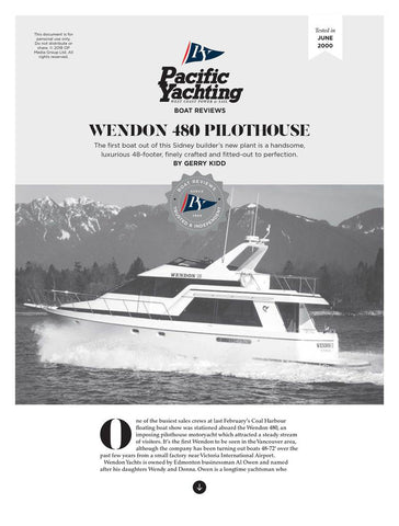 Wendon 480 Pilothouse [Tested in 2000]