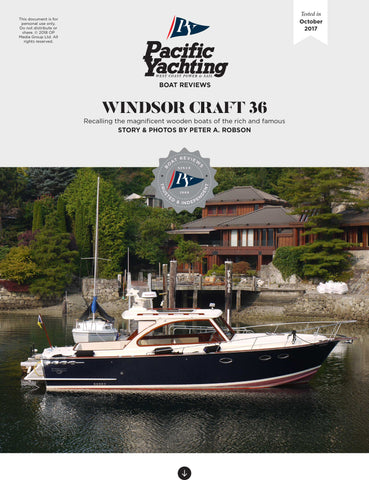Windsor Craft 36 [Tested in 2017]