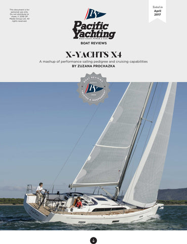 X-Yachts X4 [Tested in 2017]