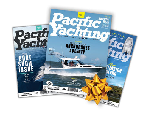 Pacific Yachting 1-Year Subscription $48 (2 or More $24 each)