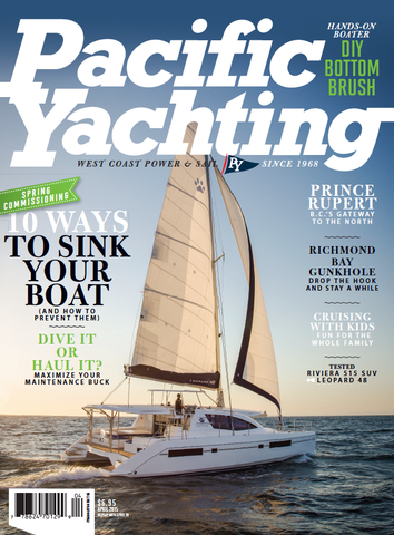 Pacific Yachting April 2015 Issue