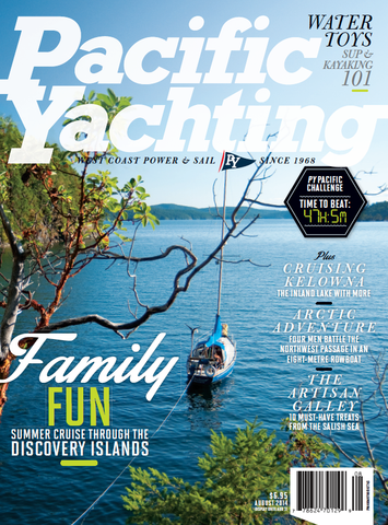 Pacific Yachting August 2014 Issue