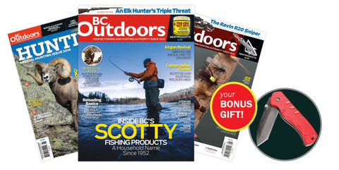BC Outdoors Magazine Subscription [I9H1ZZZB]