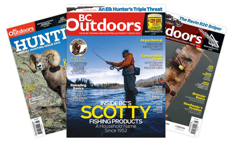 BC Outdoors Magazine Subscription [M995ADBB / M996ADBB]