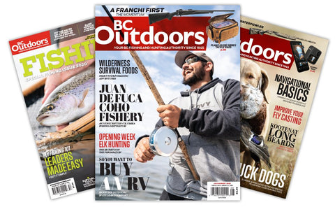 BC Outdoors Subscription with Bonus Knife $20