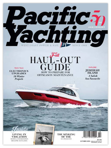 Pacific Yachting October 2018 Issue