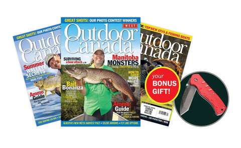 Outdoor Canada Magazine Subscription [I9D1ZZZO]