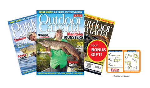 Outdoor Canada Magazine Subscription [I9BCZZZO]