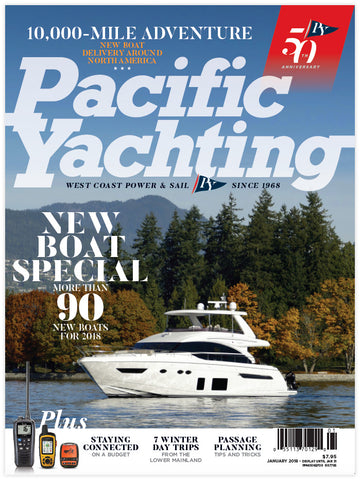 Pacific Yachting January 2018 Issue
