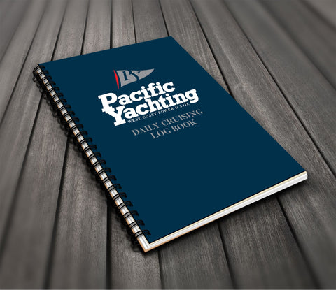 Pacific Yachting Daily Cruising Log Book