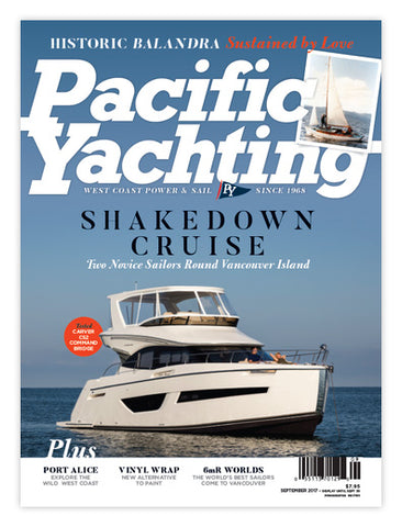 Pacific Yachting September 2017 Issue