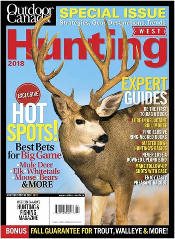 Outdoor Canada West Hunting Special 2018 Issue