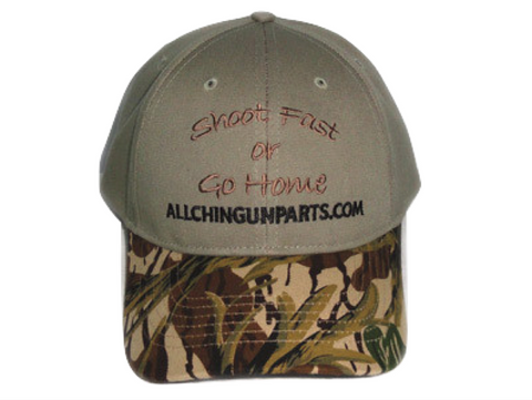 "Allchin Hat ""Shoot Fast or Go Home"""