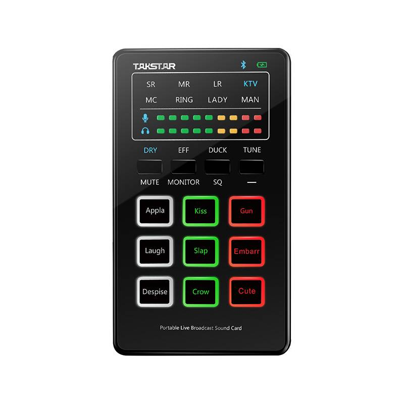 Takstar MX1 mini Portable Webcast Sound Card