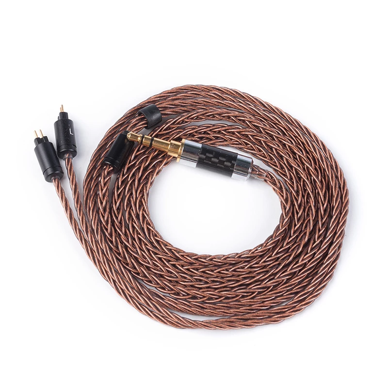 Yinyoo 8 Core High Purity Copper Cable 2.5/3.5MM With MMCX/2PIN Connector