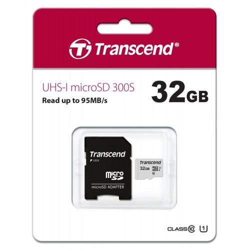 Transcend UHS-I microSD Card - Gears For Ears