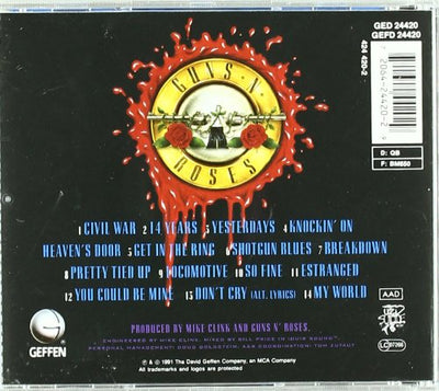 Guns N' Roses ‎– Use Your Illusion II - Gears For Ears