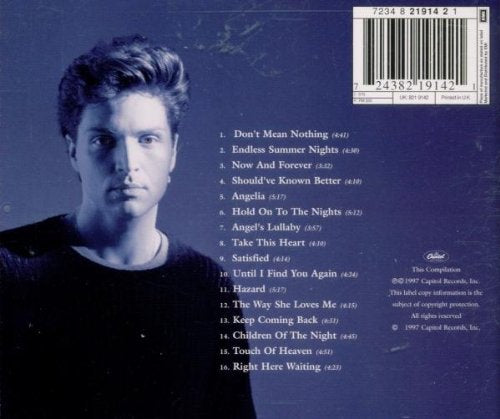 Richard Marx - Greatest Hits - Gears For Ears