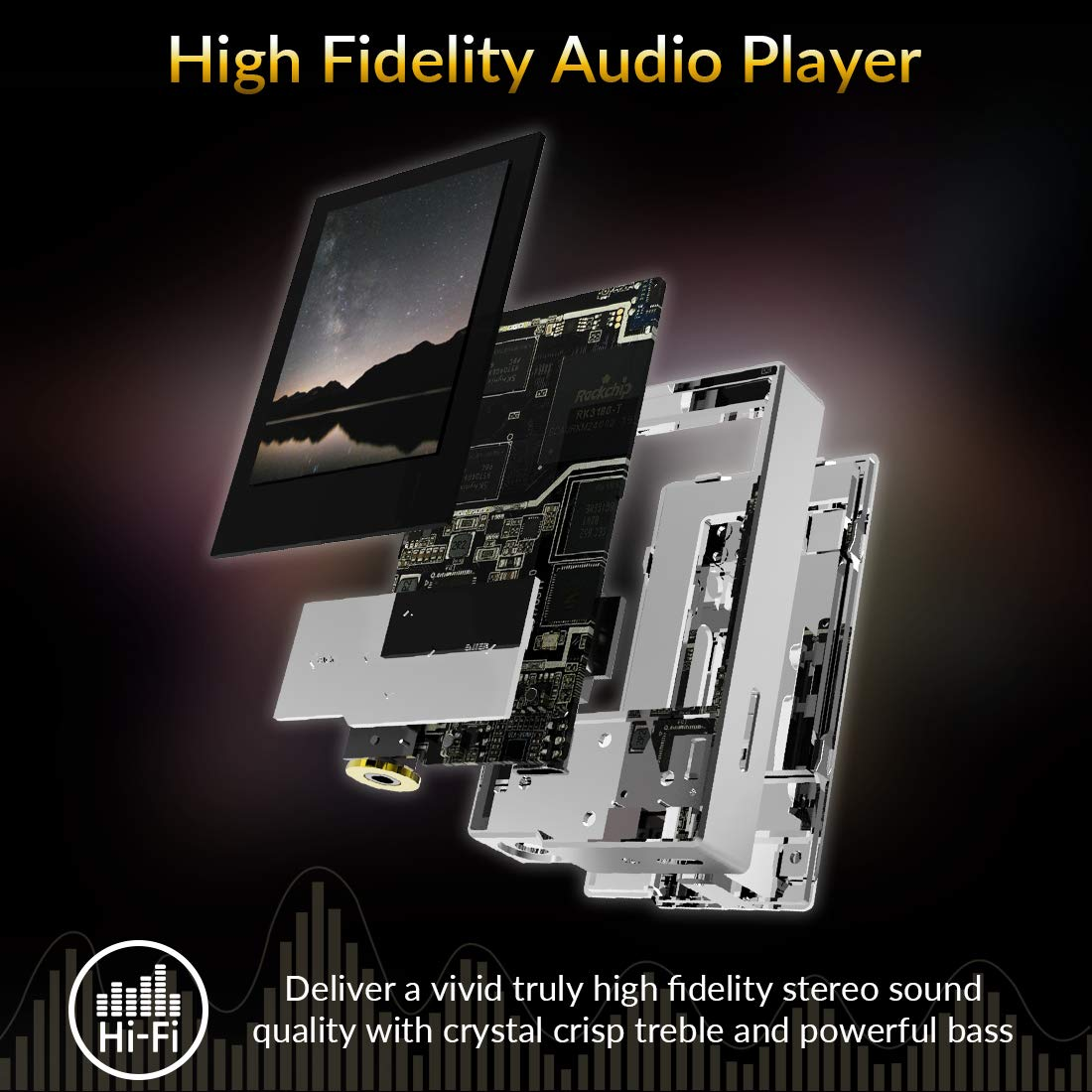 Hidizs AP60 Ⅱ Music Player - Gears For Ears