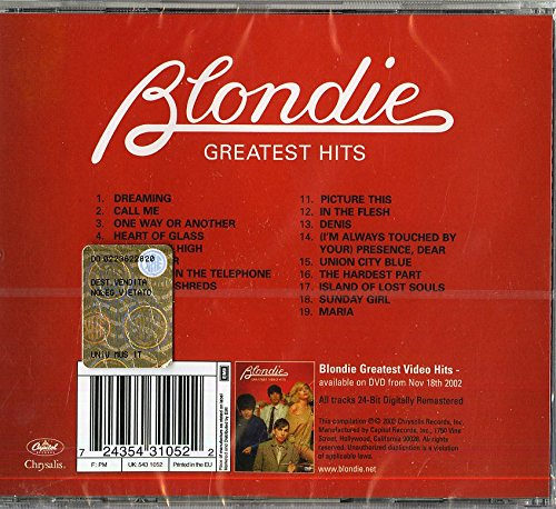 Blondie ‎– Greatest Hits - Gears For Ears