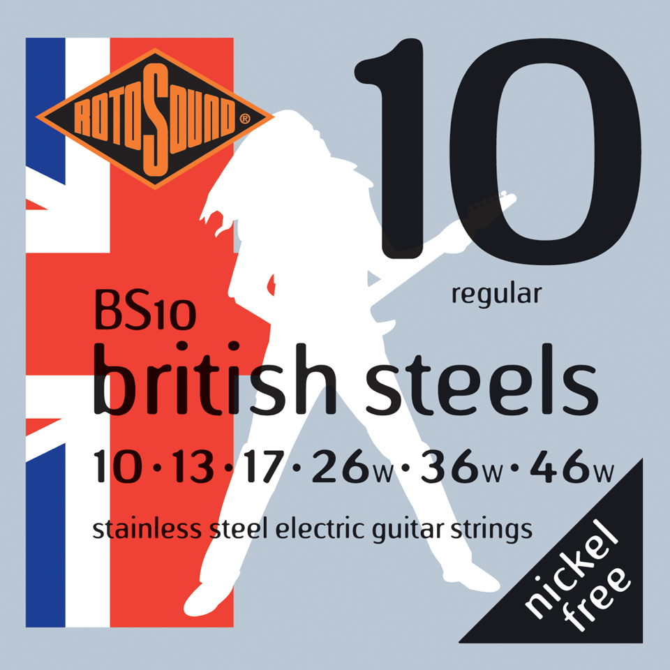 Rotosound British Steels Electric Guitar Strings - Gears For Ears