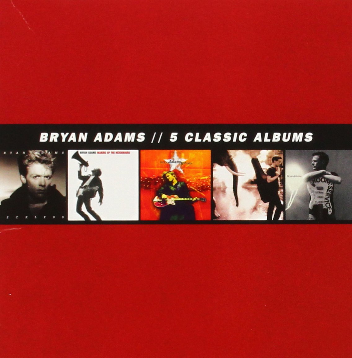 Bryan Adams 5 Classic Albums - Gears For Ears