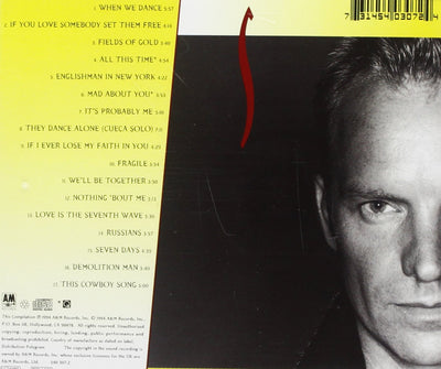 Fields of Gold: the Best of Sting 1984-1994 - Gears For Ears