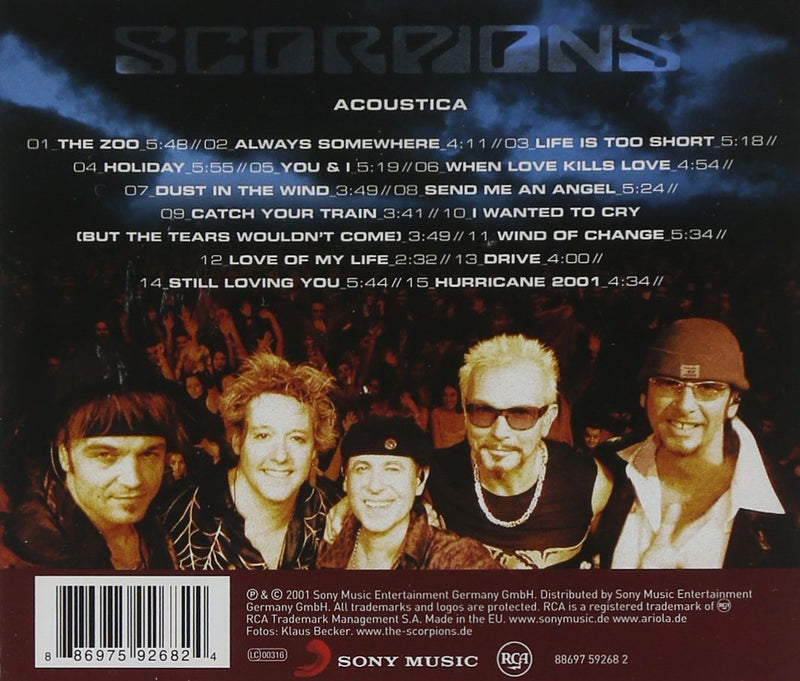 Scorpions - Acoustica - Gears For Ears