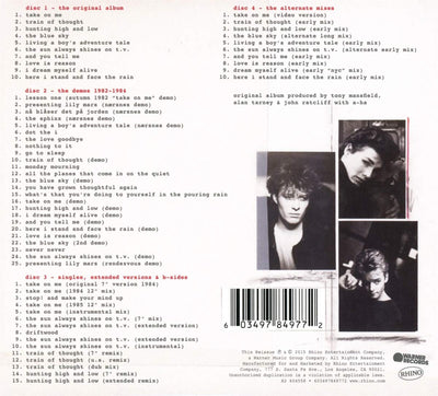 a-ha ‎– Hunting High And Low - Gears For Ears