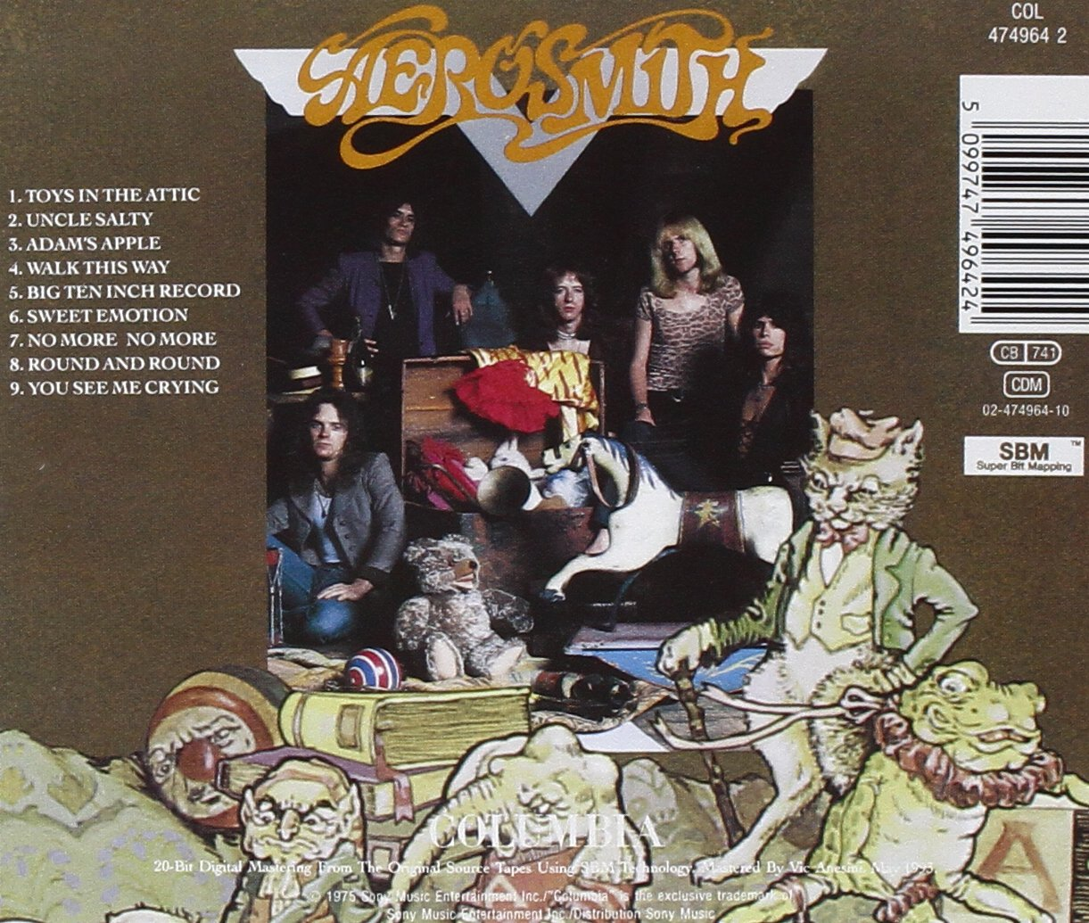 Aerosmith Toys In The Attic - Gears For Ears