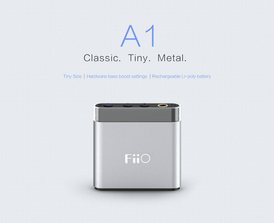 FiiO A1 Portable Amplifier