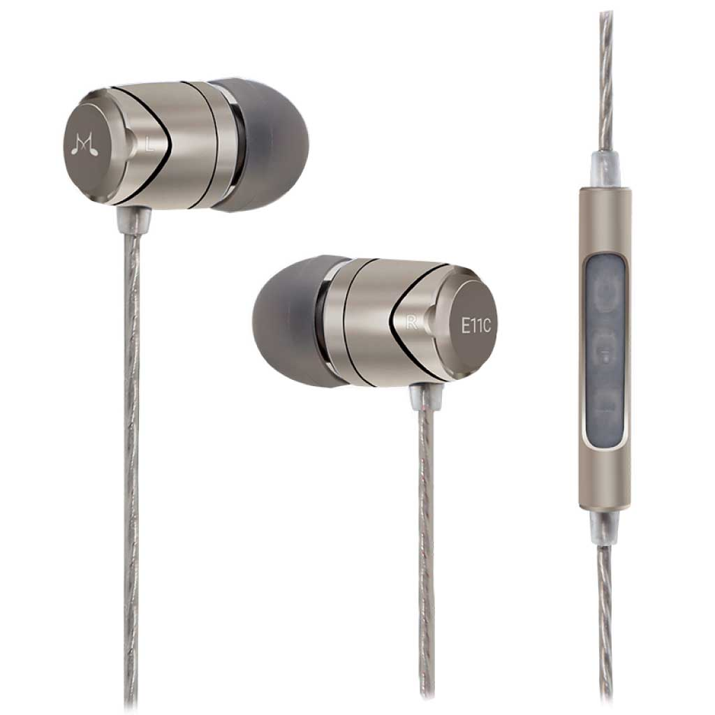 SoundMAGIC E11C In-Ear Isolating Earphones with Mic and Remote - Gears For Ears