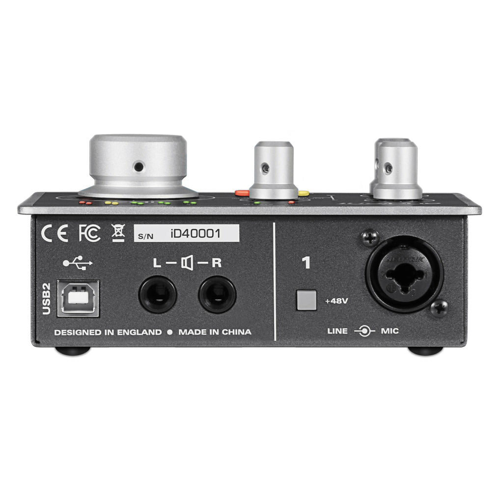 Audient iD4 Audio Interface (Pre-Order) - Gears For Ears