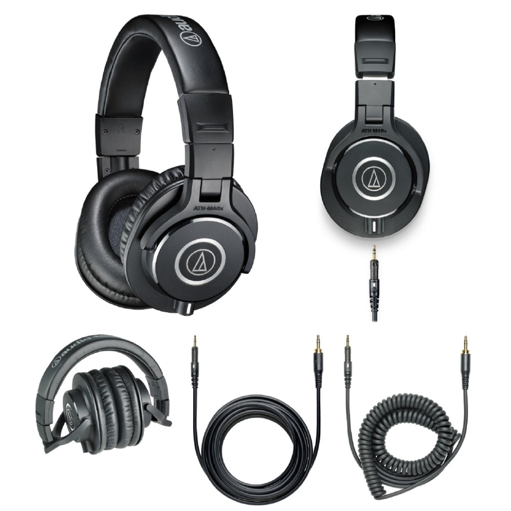 Audio-Technica ATH-M40X Monitor Headphone - Gears For Ears