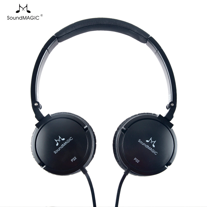 SoundMAGIC P22 Portable Headphones - Gears For Ears