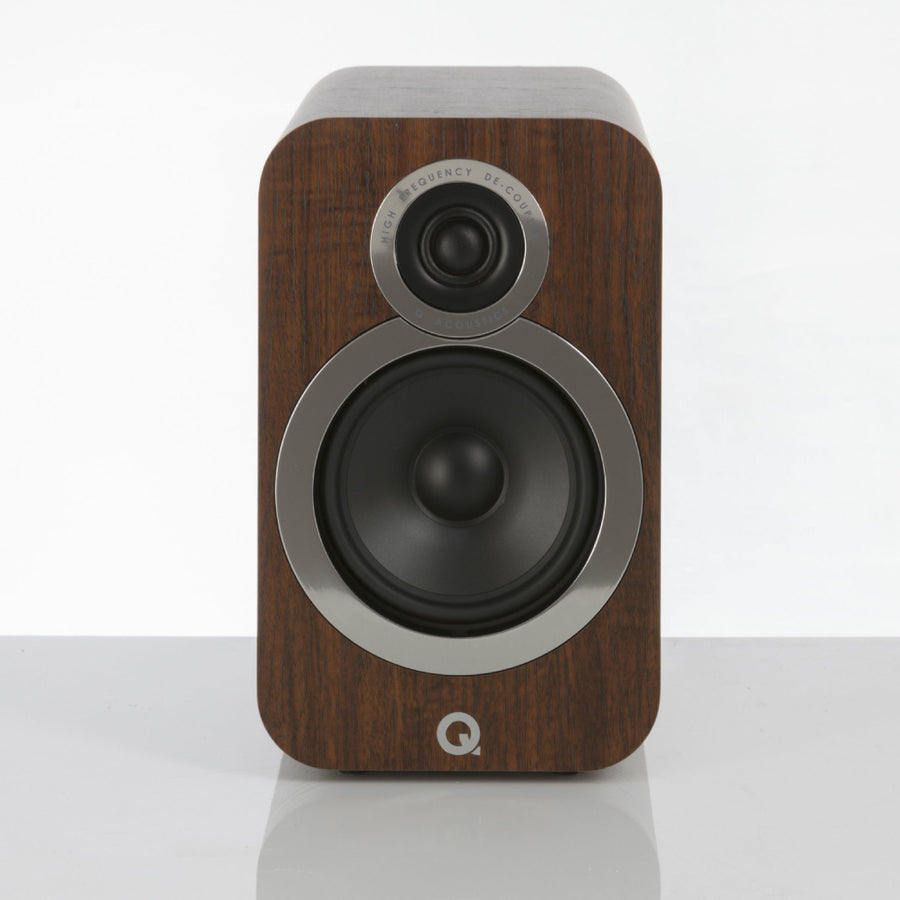 Q Acoustic 3010 Speakers (Walnut)