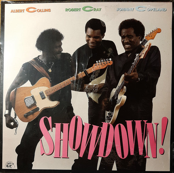Albert Collins / Robert Cray / Johnny Copeland ‎– Showdown! (Used) (Mint Condition)