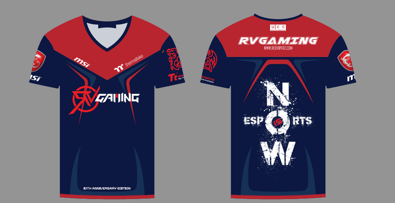 RV Gaming 10th Anniversary Edition Fan Jersey - Gears For Ears