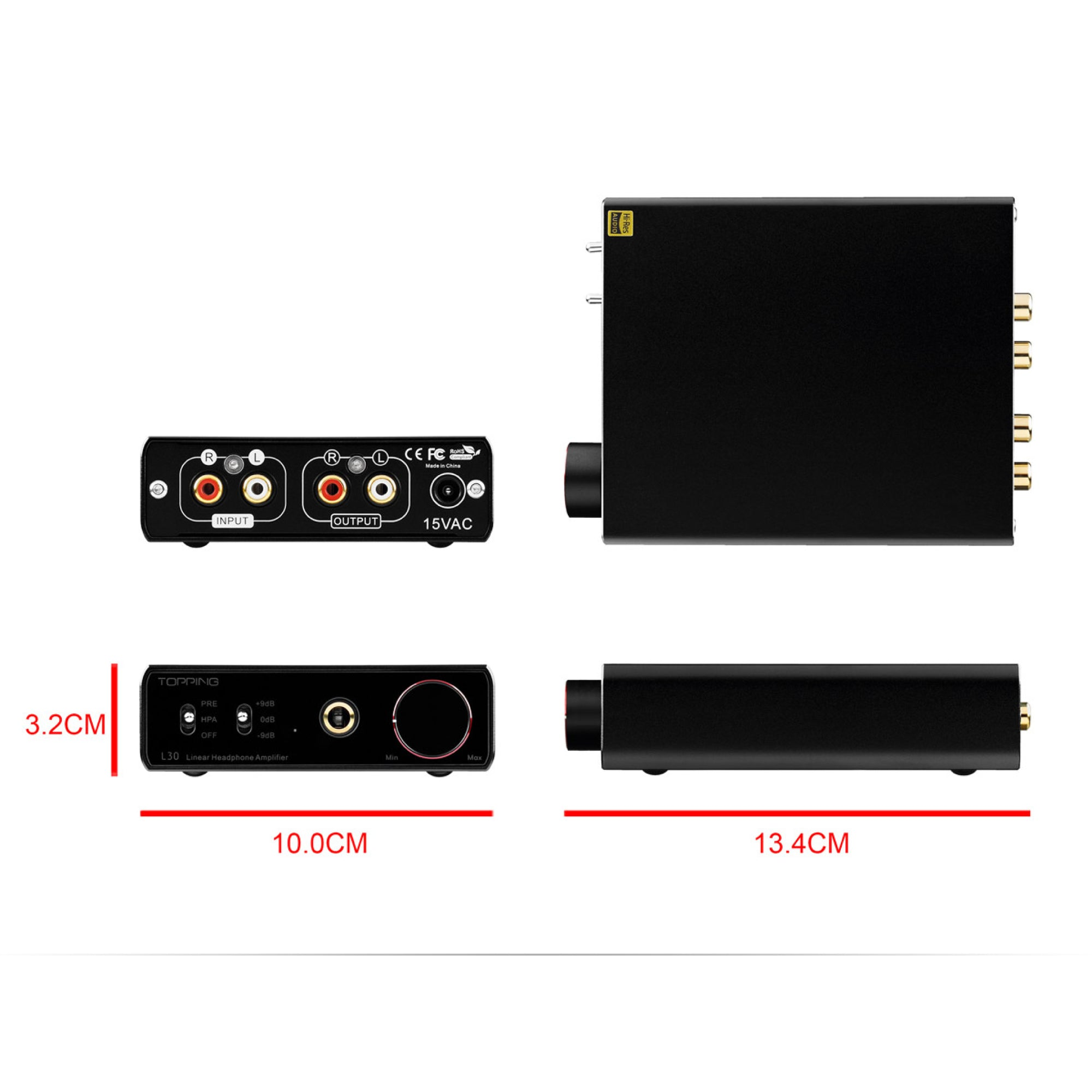 TOPPING L30 Headphone Amplifier