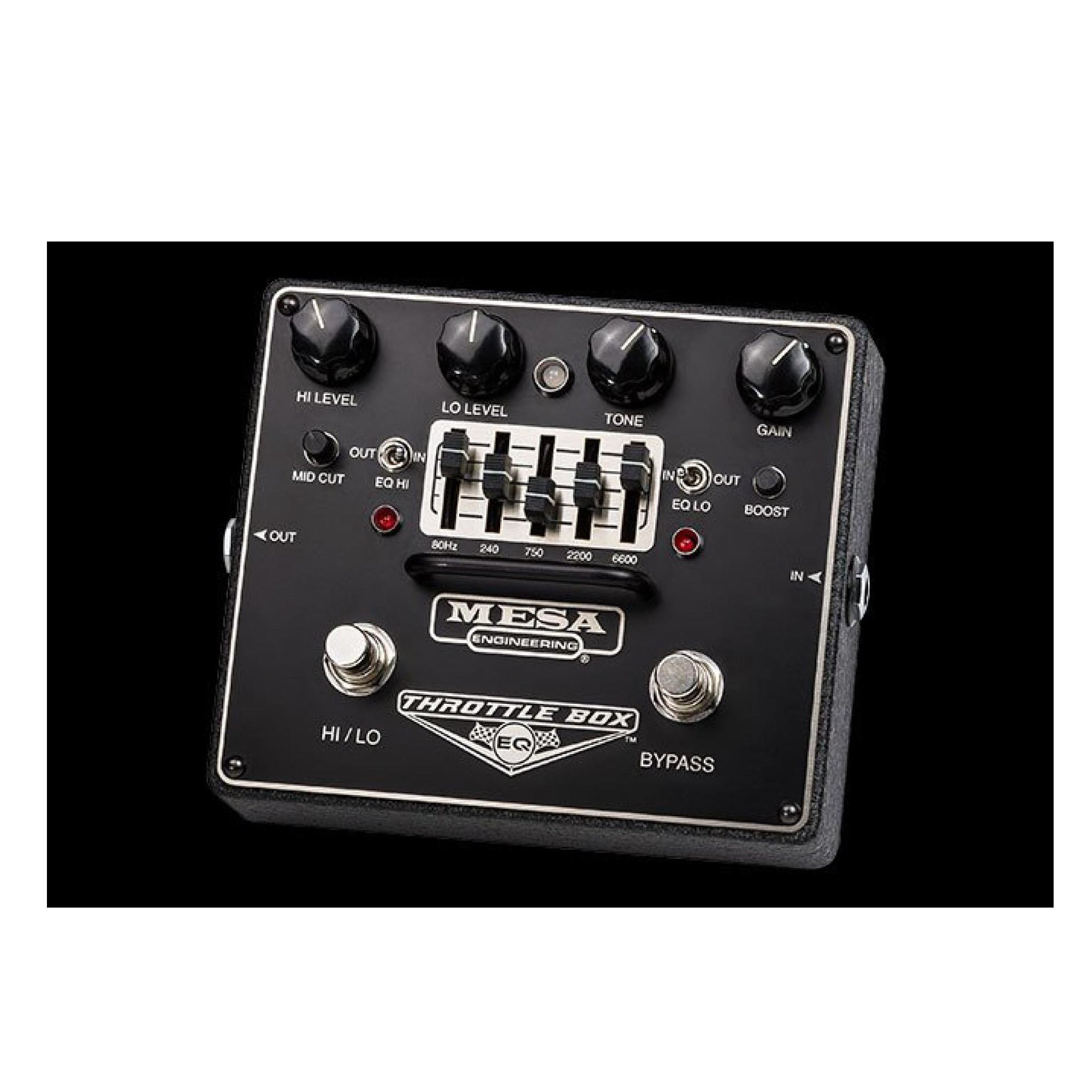 Mesa Boogie Throttle Box EQ Overdrive Pedal (Pre-Order) - Gears For Ears