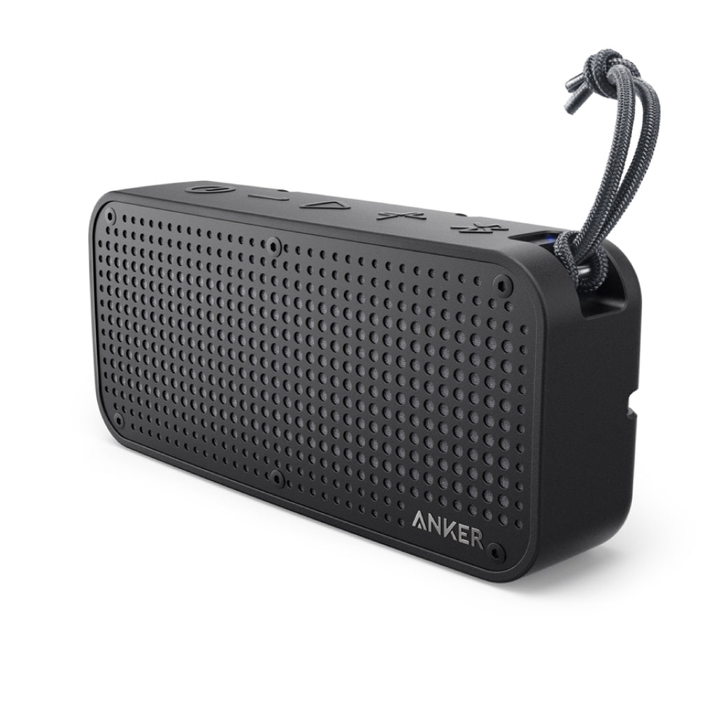 Anker SoundCore Speaker Sport XL 16W with IPX67 Rating and 2 Subwoofers (Black) - Gears For Ears